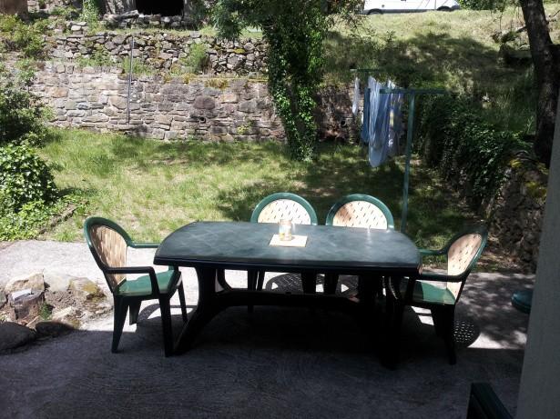 Terrasse er barbecue du F2 jardin