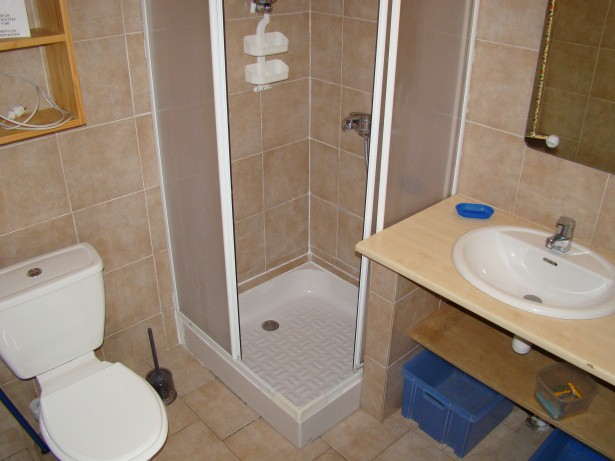 salle de bains de l'appartement
