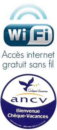 Wifi gratuit et Chèques Vacances acceptés