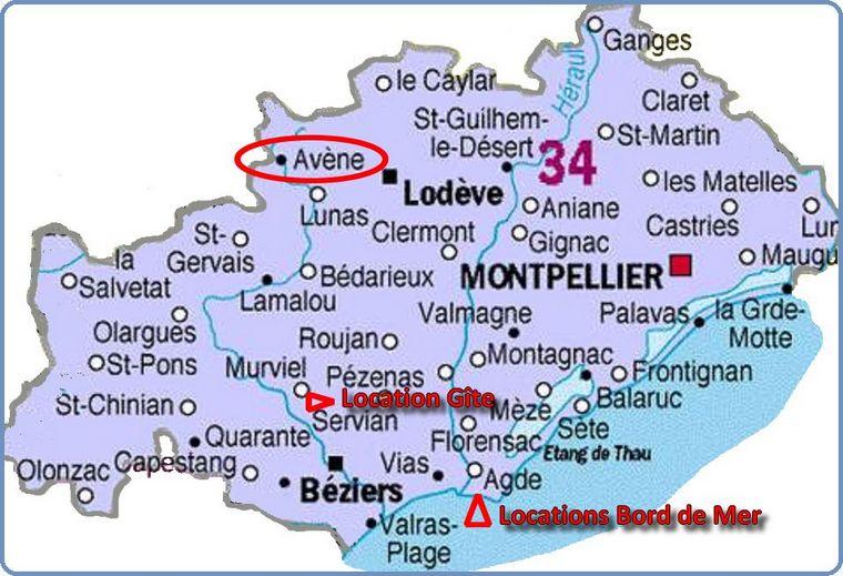 Trouvez votre location de vacances dans l'Hérault