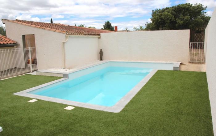 piscine de la location vacances hérault